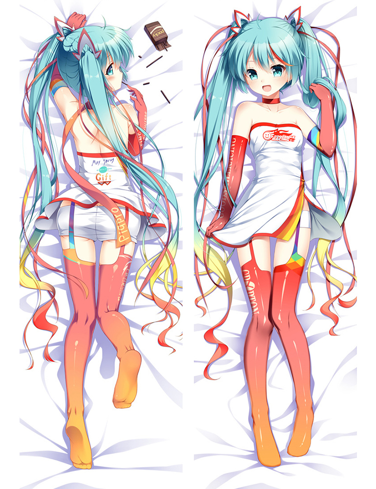 Hatsune Miku - Vocaloid Anime Dakimakura Japanese Hug Body Pillow Cover